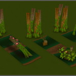Catcha Catcha Aliens - Forest Level Tiles 4