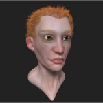 ZBrush sketch ginger2